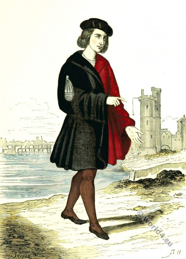 Alderman. Renaissance character costume. 16th Century clothing.