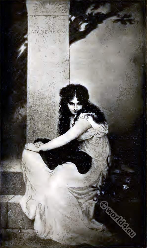 Electra and Orestes. Greek Mythology