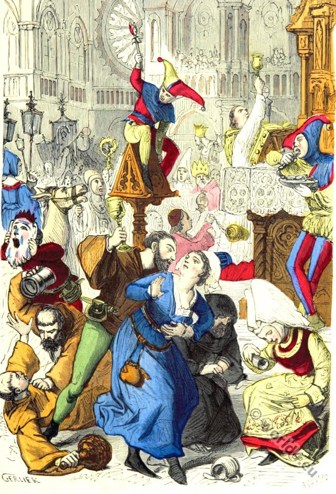 Feast, Fools, dance, Middle Ages,