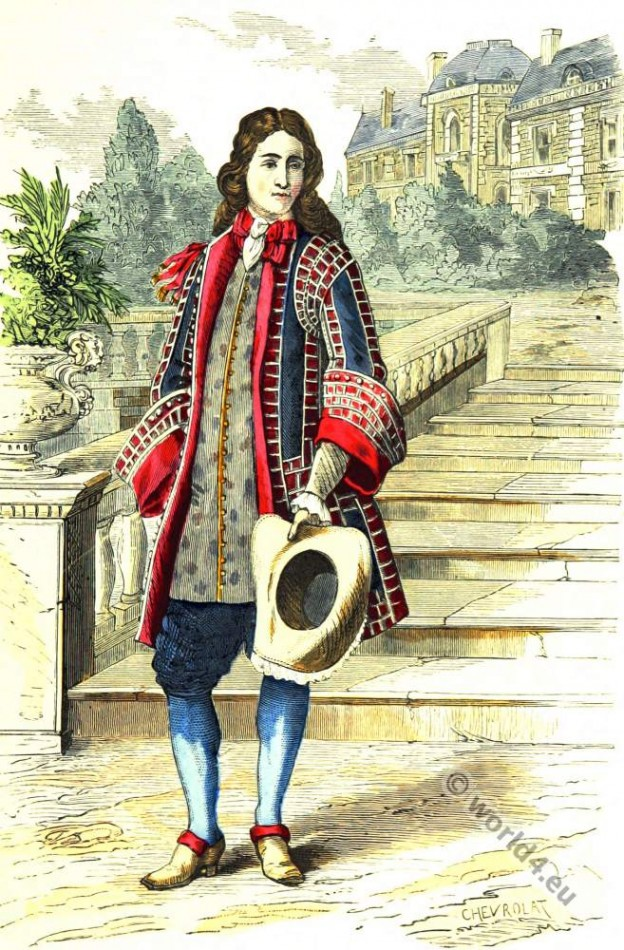 Baroque, Nobility, French, Seigneur, costume, fashion history, historical, dress, 17th century, Louis XIV