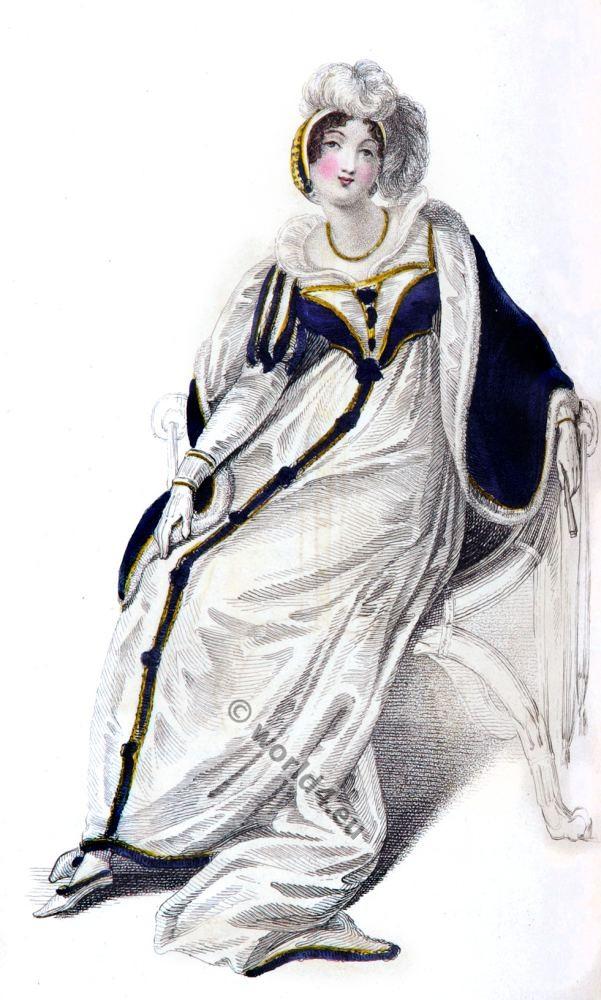 Regency, costume, Rudolph Ackermann, Georgian,