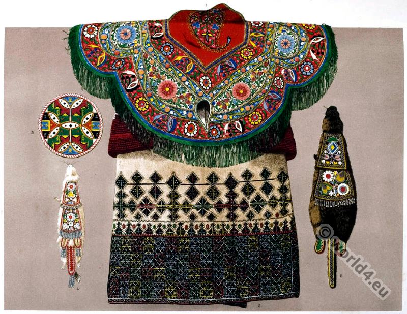 Embroidery, Caucasus, Greece, Natives, Melicete, tribe