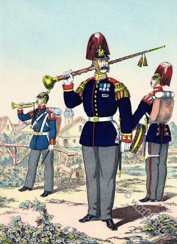 Prussian, army, uniforms, Grenadier, Commander, Drum Major, Guard, Regiment,