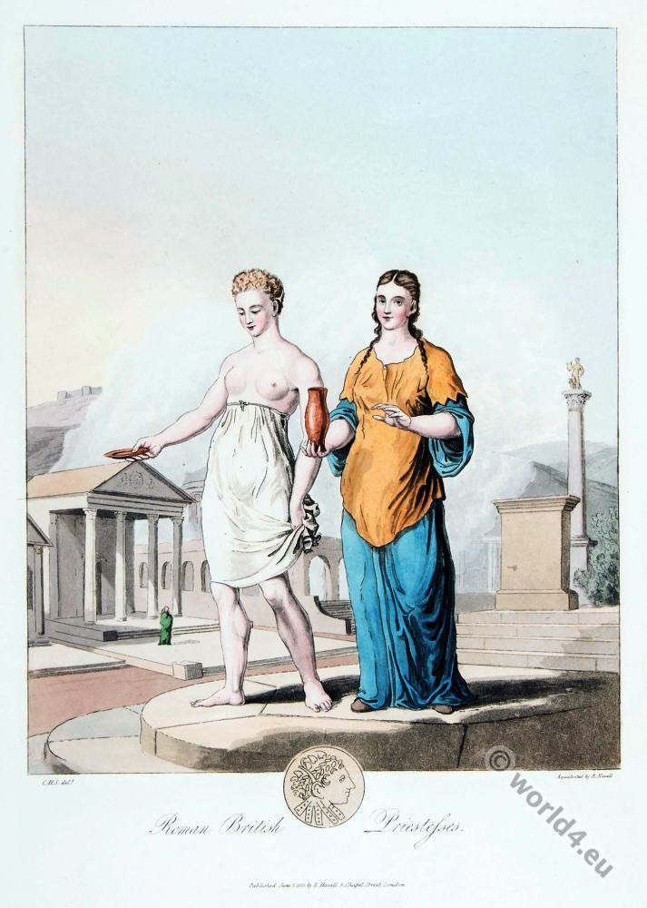 Britain, British, priestesses, costumes, Celtic, England