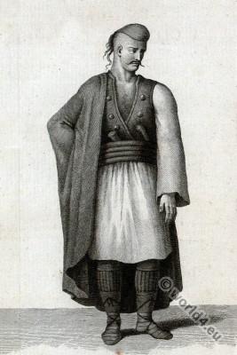 Soldier,  Albania, Albanian, Albanaise, traditional, costume
