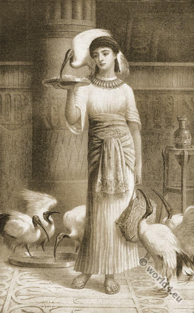 Thomas Moore, Alethe, Priestess, egyptian, costume,