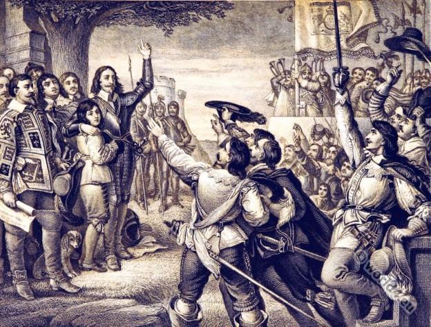 England, history, Charles I, English, Civil War, Nottingham