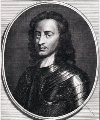 John Hampden, English politician, 17th century, nobility, baroque,