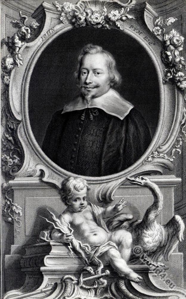 John Pym, England, 17th century, parliamentarian, nobility, baroque