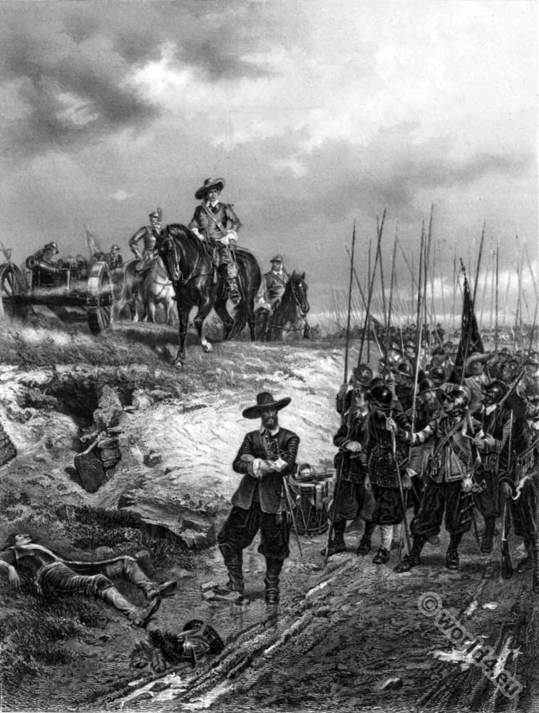 Battle, Marston Moor, Oliver, Cromwell, England, History, 17th, century,