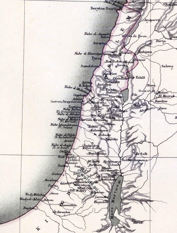 The prinlity of Antioch. The crusades. Map of Syria ... on jerusalem home, jerusalem compass, jerusalem marathon, jerusalem before crusades, jerusalem atlas,