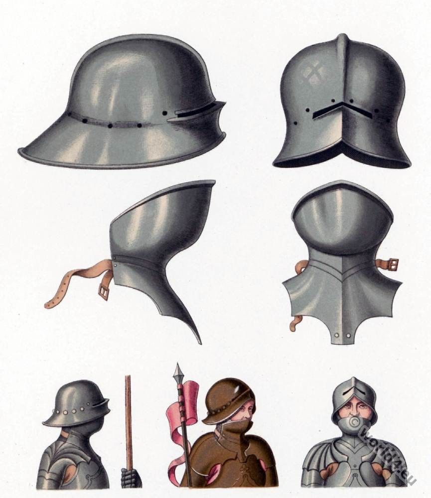 Schaller, Salade, Celata, Middle ages, helmet, armor. military, soldier, knight,