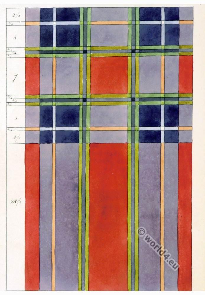 Tartan Pattern, Earl, Inverness