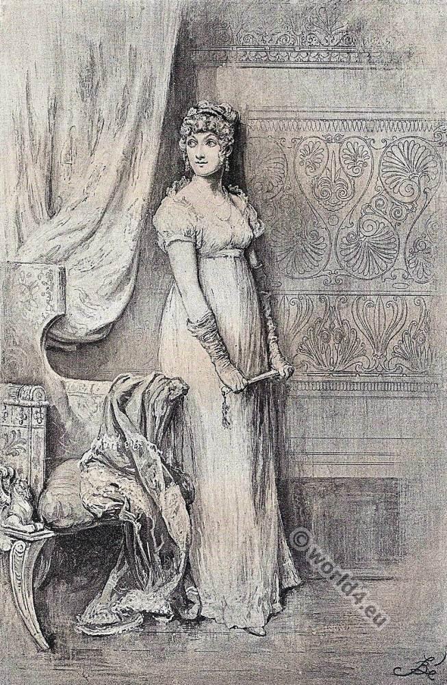 William Makepeace Thackeray., Becky Sharp, Vanity Fair, Victorian, fashion,
