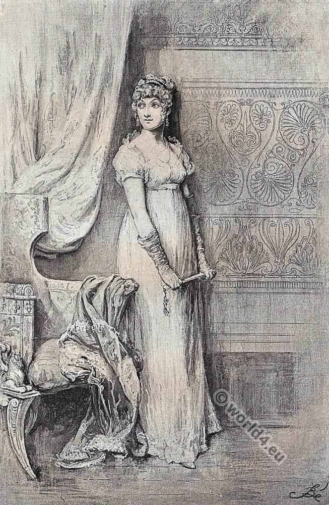 Becky Sharp. Vanity Fair. Victorian fashion. William Makepeace Thackeray.