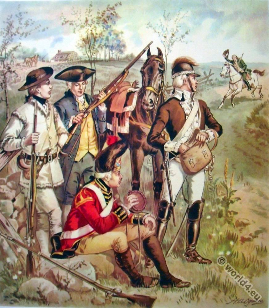 Independent, Company, Organizations, American, Revolutionary, War,
