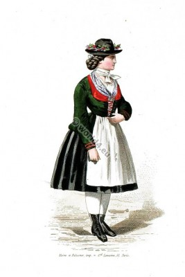 Traditional Hungarian national costume