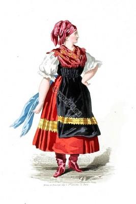 Hungarian national costume