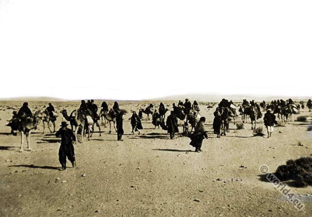 Russian, Pilgrims, Palestine, Holy, Land, Desert, Sinai,