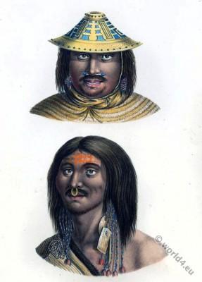 Anthropology, ethnology, Native, North America, Inhabitants, Heinrich Rudolf Schinz, Brodtmann, american natives,