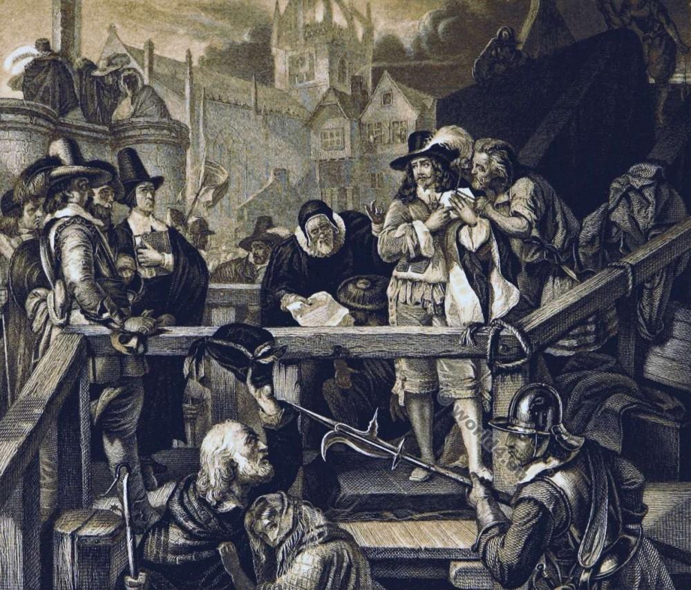 Montrose, Execution, English, Civil War,