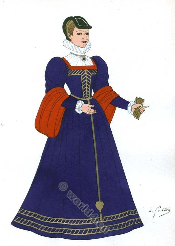 fashion history, Renaissance, costume