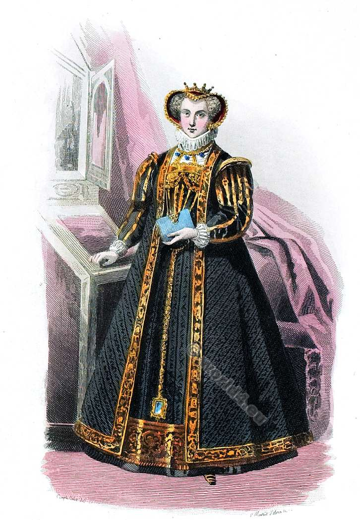 Costume, Renaissance, Cour, Henri II, fashion