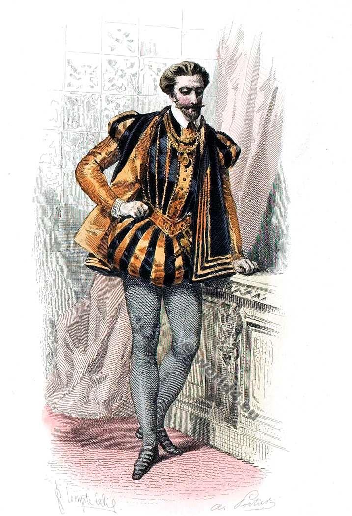 Costume, Renaissance, fashion, Nobility,