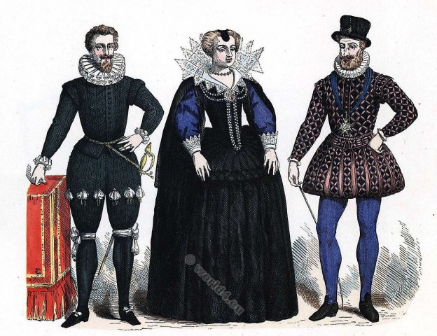 Henry IV, Renaissance, fashion, costumes