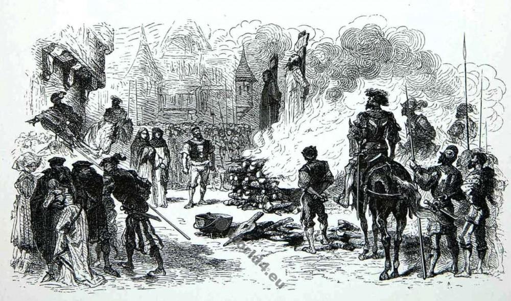 Huguenot, war, Alphonse Neuville, Meaux