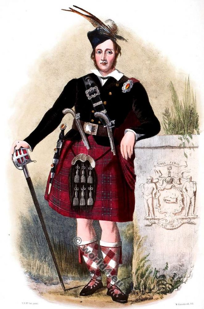 Clan, Siosal, Chisholm, Tartan, Scotland, Clans, Scottish, Highlands