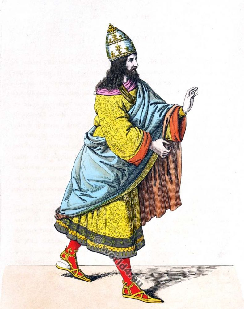 Friedrich III. Roman-German king. Emperor of the Holy Roman Empire. Renaissance fashion history. Middle ages costumes.