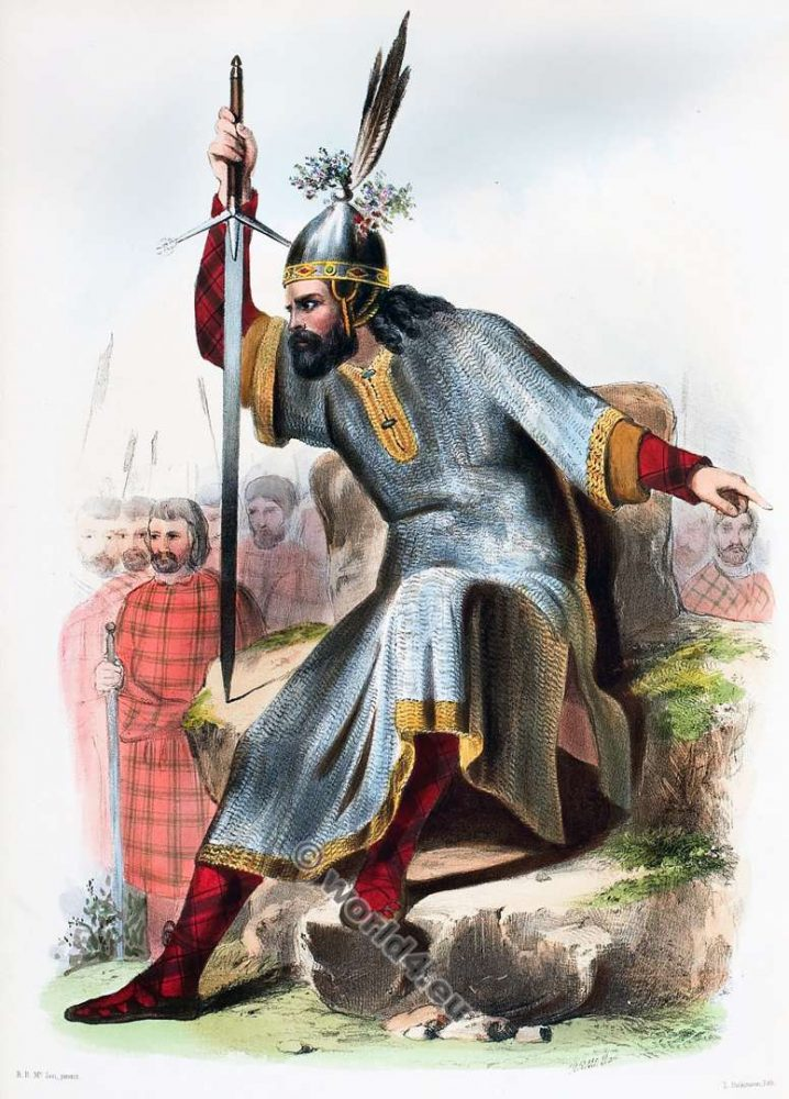 Clann Donuill Nan Eillean. The Mac Donalds of the Isles. Clan. Tartan. Scotland national costume. Clans of the Scottish Highlands.