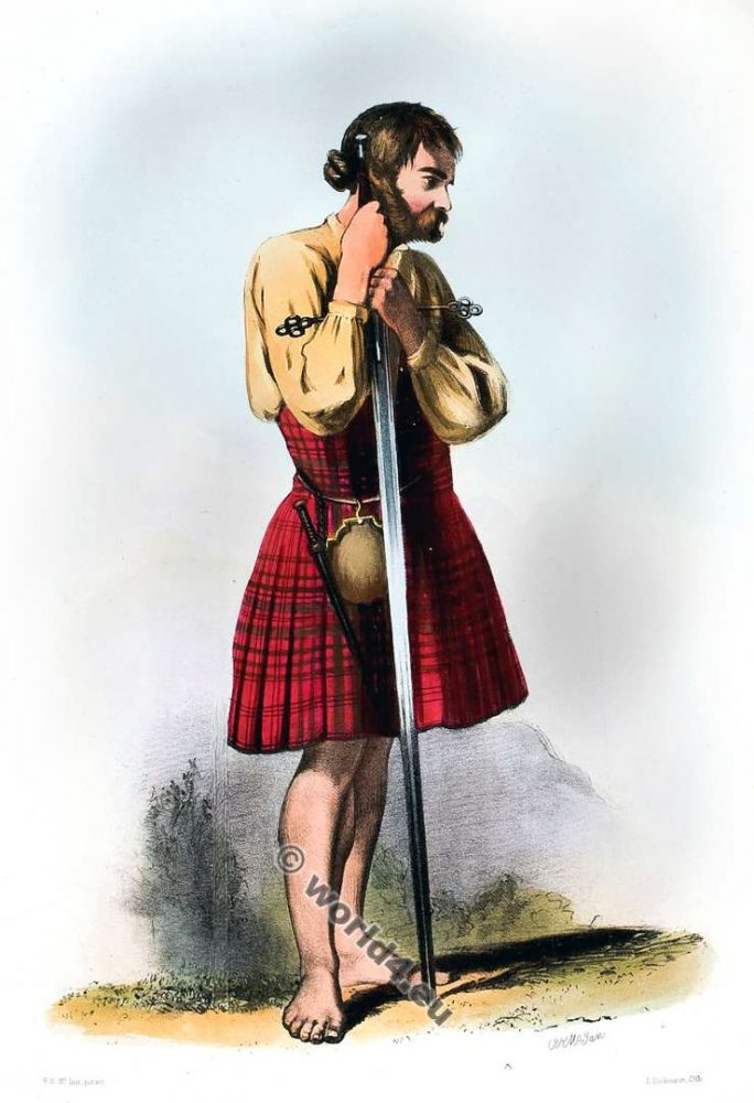 Clann Mhic Dhughil. The Mac Dugals. Clan. Tartan. Scotland national costume. Clans of the Scottish Highlands.