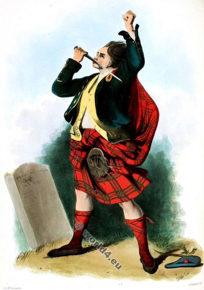 Siol Alpin No Na Griogaraih. The Mac Grergors. Clan. Tartan. Scotland national costume. Clans of the Scottish Highlands.