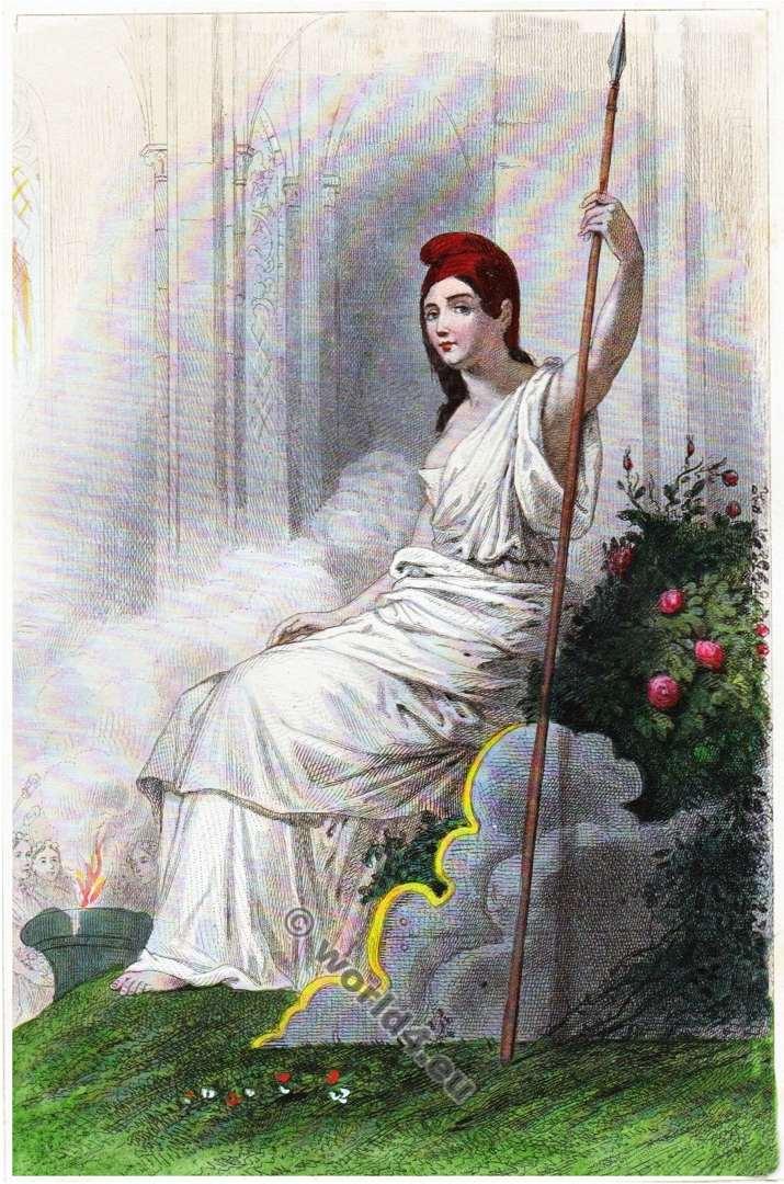 French, Revolution, Goddess, Reason, Supreme, Being,