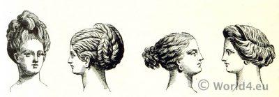 Ancient, Greek, hair-dressing,