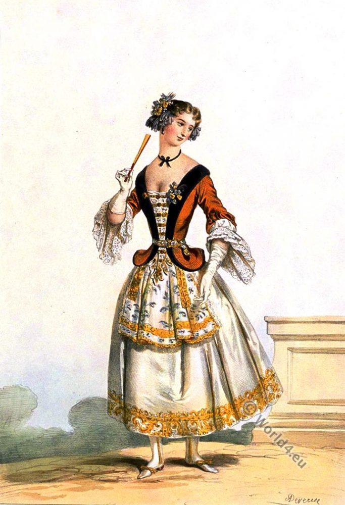 Costume, bal, Louis XIV, fashion, history, baroque, 17th, century, Versailles,
