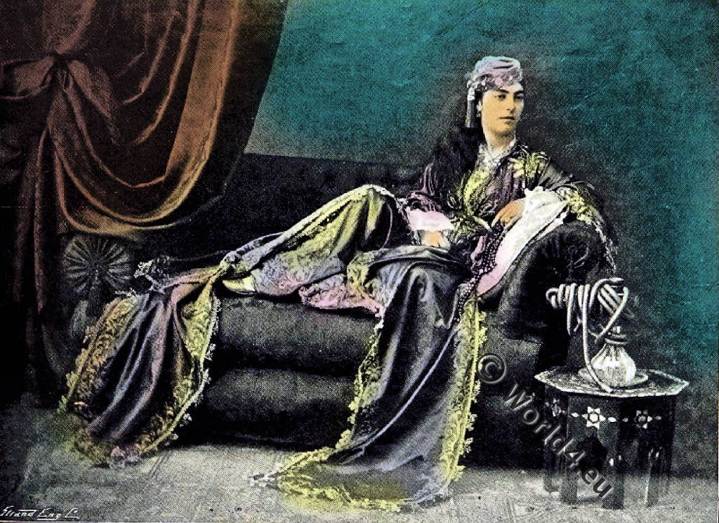 Sultana, Ottoman, harem, Oriental, magnificence,