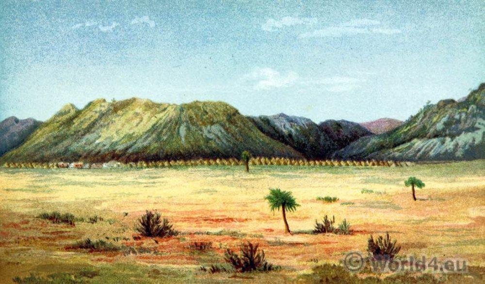 Shoshong, Bamangwato, settlement, Bamangwato, Mangwato, Bagamma, Ngwato,