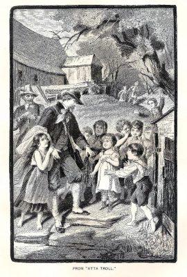 Heinrich Heine, Atta Troll, German, Romantic,