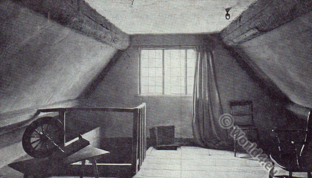 Boscobel, Room, Wolverhampton, Escape, Charles II, flight, shelter