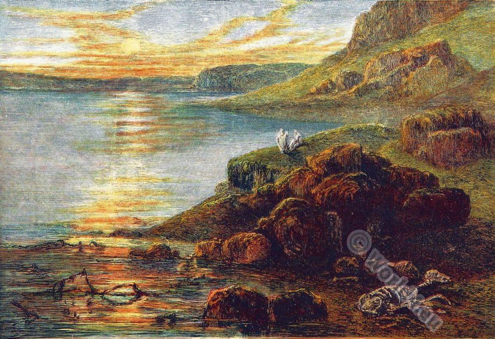 Dead Sea. Biblical place. Israel. Palestine. Jordan. Sacred Destinations.