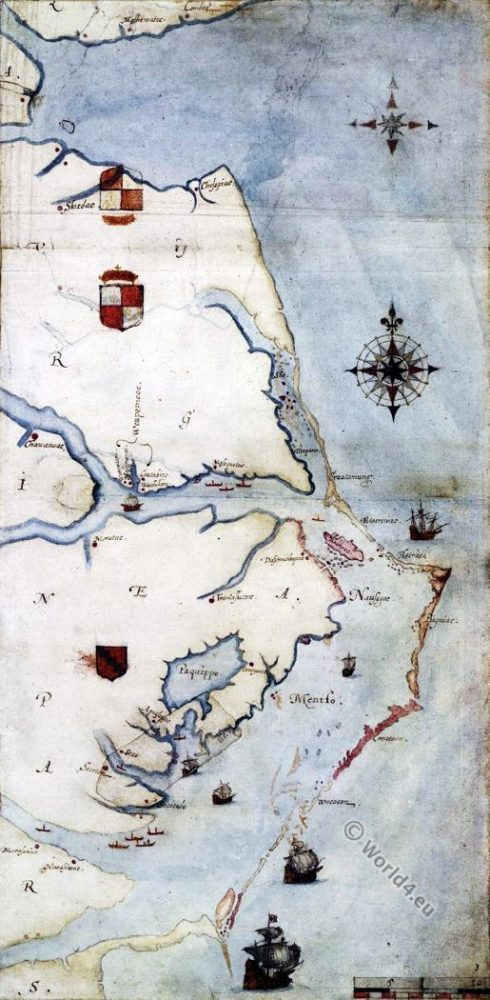 Roanoke, Island, Virginia, Sir, Walter, Raleigh