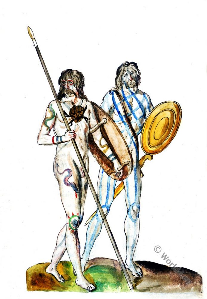 Britons, Celts, England, Albion, savages, Cimmerii, Cimbrians, Celtae,