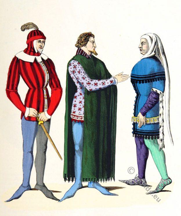 Varlet, Seigneurs en costumes.