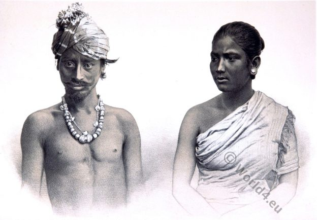 Muttuck, Asam tribe. India 19th century.