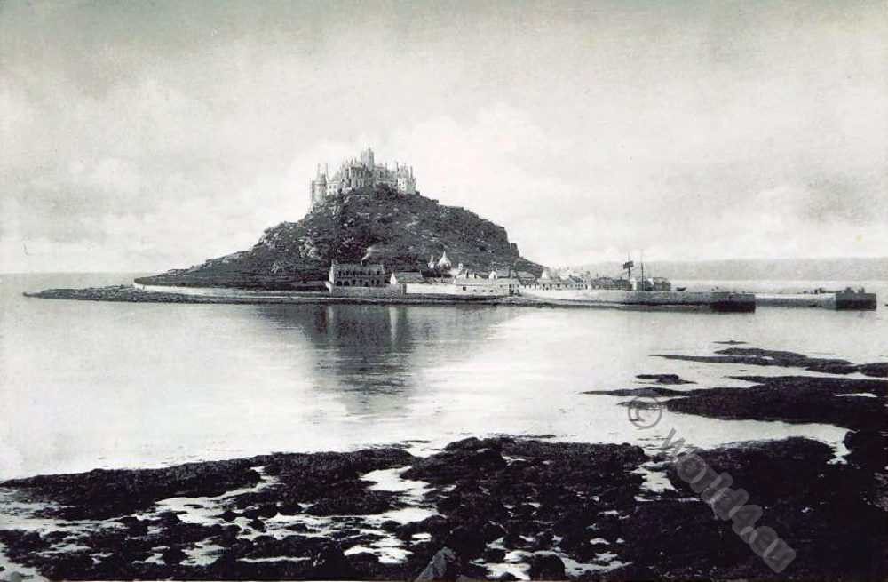 St Michael's, Mount, Cornwall, Medieval, England, Castle,