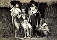 India Tribe Mizhu. Mizu. Bengal. Mishmis. costumes