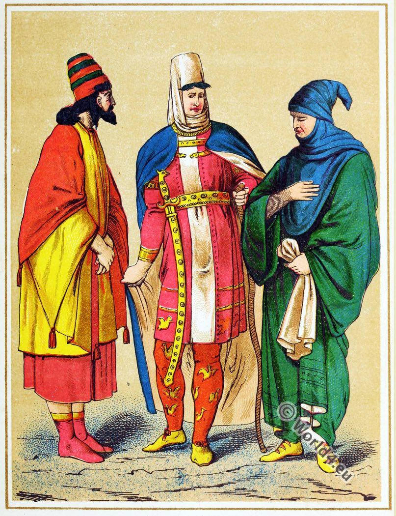 Darius, king, Costumes, Asia, Ancient, Persia,